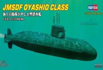 JMSDF OYASHIO CLASS · HBO 87001 ·  HobbyBoss · 1:700