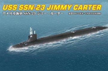 SSN-23 JIMMY CARTER ATTACK SUBMARINE · HBO 87004 ·  HobbyBoss · 1:700