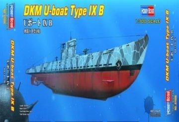 DKM U-boat Type IX B · HBO 87006 ·  HobbyBoss · 1:700