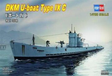 DKM U-boat Type IX C · HBO 87007 ·  HobbyBoss · 1:700