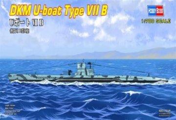DKM U-boat Type VII B · HBO 87008 ·  HobbyBoss · 1:700