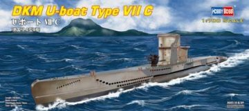 DKM U-boat Type VII C · HBO 87009 ·  HobbyBoss · 1:700
