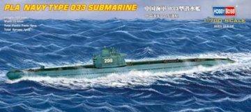 PLA  Navy Type 033 submarine · HBO 87010 ·  HobbyBoss · 1:700