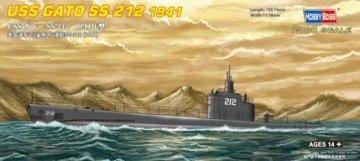 USS GATO SS-212 1941 · HBO 87012 ·  HobbyBoss · 1:700