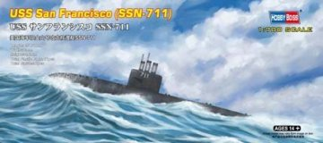 USS San Francisco (SSN-711) · HBO 87015 ·  HobbyBoss · 1:700