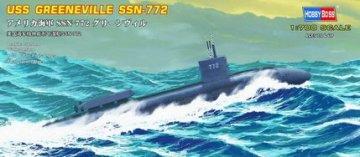 USS Navy Greeneville submarine SSN-772 · HBO 87016 ·  HobbyBoss · 1:700