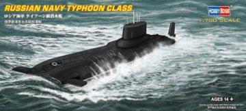 Russian Navy Typhoon class Submarine · HBO 87019 ·  HobbyBoss · 1:700