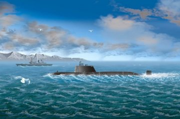 HMS Astute · HBO 87022 ·  HobbyBoss · 1:700