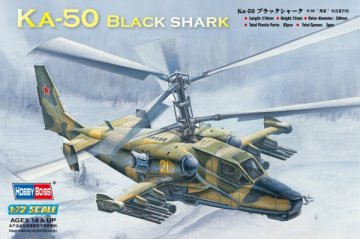 Ka-50  Black shark  Attack Helicopter · HBO 87217 ·  HobbyBoss · 1:72