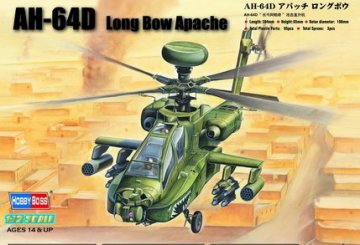Hughes AH-64D Apache Long Bow · HBO 87219 ·  HobbyBoss · 1:72
