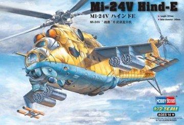 Mil Mi-24V  Hind-E · HBO 87220 ·  HobbyBoss · 1:72