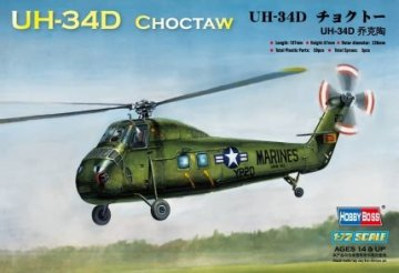 American UH-34D ´´Choctaw´´ · HBO 87222 ·  HobbyBoss · 1:72