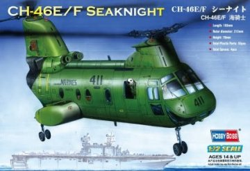 American CH-46F ´´sea knight´´ · HBO 87223 ·  HobbyBoss · 1:72