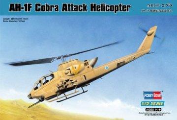 AH-1F Cobra Attack Helicopter · HBO 87224 ·  HobbyBoss · 1:72