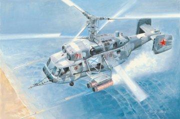 Kamov Ka-29 Helix-B · HBO 87227 ·  HobbyBoss · 1:72