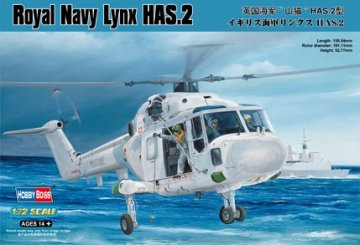 Royal Navy Lynx HAS.2 · HBO 87236 ·  HobbyBoss · 1:72
