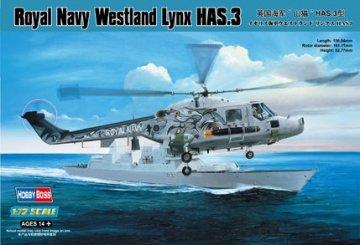 Royal Navy Westland Lynx HAS.3 · HBO 87237 ·  HobbyBoss · 1:72