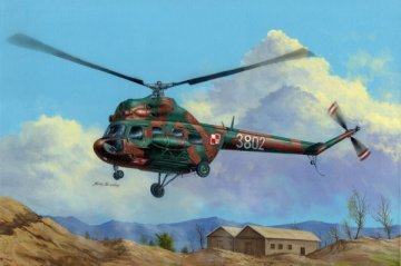 Mil mi-2T Hoplite · HBO 87241 ·  HobbyBoss · 1:72