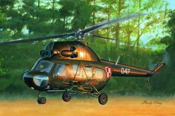 Mil mi-2US Hoplite gunship variant · HBO 87242 ·  HobbyBoss · 1:72