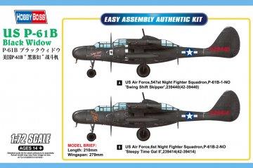 US P-61B Black Widow · HBO 87262 ·  HobbyBoss · 1:72