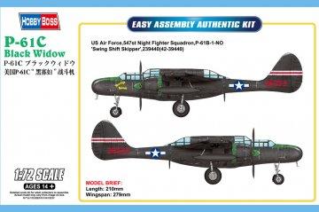 US P-61C Black Widow · HBO 87263 ·  HobbyBoss · 1:72