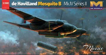 de Havilland Mosquito B. Mk.IV Series II · HKM 01E015 ·  Hong Kong Models · 1:32