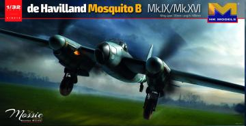 de Havilland Mosquito B. Mk.IX, Mk.XVI · HKM 01E016 ·  Hong Kong Models · 1:32
