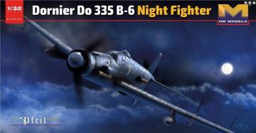 Dornier Do 335 B-6 Night fighter · HKM 01E021 ·  Hong Kong Models · 1:32