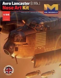 Avro Lancaster B. Mk. I - Nose Art Kit - Cockpit  · HKM 01E033 ·  Hong Kong Models · 1:32