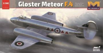 Gloster Meteor F.4 · HKM 01E06 ·  Hong Kong Models · 1:32