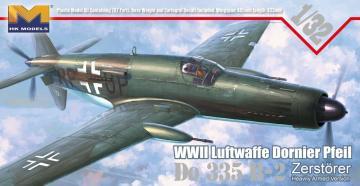 WWII Luftwaffe Dornier Pfeil Do 335 B-2 · HKM 01E07 ·  Hong Kong Models · 1:32