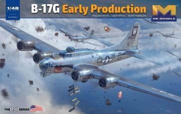 B-17G Flying Fortress - Early Production · HKM 01F001 ·  Hong Kong Models · 1:48