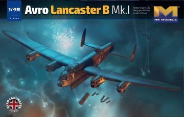 Avro Lancaster B Mk.I · HKM 01F005 ·  Hong Kong Models · 1:48