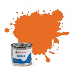 Humbrol 018*** Orange, Glänzend 14 ml · HR 20018 ·  Humbrol