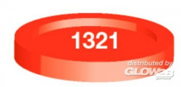 Humbrol 1321 Rot, transparent · HR 21321 ·  Humbrol
