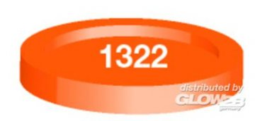 Humbrol 1322 Orange, transparent · HR 21322 ·  Humbrol