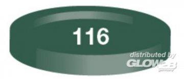Humbrol Acryl 116 USA-Dunkelgrün matt 12 ml · HR 50022116 ·  Humbrol