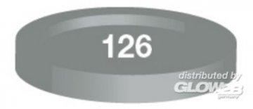 Humbrol Acryl 126 USA-Mittelgrau seidenmatt 12 ml · HR 50022126 ·  Humbrol
