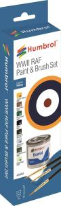 AF WWII Colours - Enamel Paint & Brush  · HR AA9064 ·  Humbrol