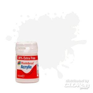 Humbrol Acrylic 22 - White Gloss - 18,2ml · HR AB0022EP ·  Humbrol