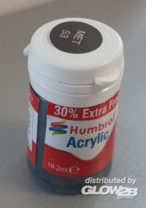 Humbrol Acrylic 53 - Gunmetal Metallic - 18,2ml · HR AB0053EP ·  Humbrol