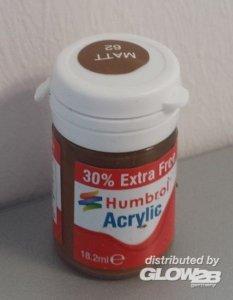Humbrol Acrylic 62 - Leather Matt - 18,2ml · HR AB0062EP ·  Humbrol