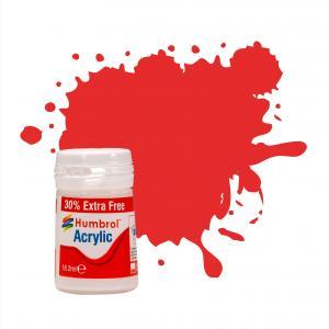No 209 Fire Orange Gloss - Acrylic - 18,2 ml · HR AB0209EP ·  Humbrol