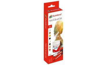 Humbrol Acrylic Farbset für Figuren · HR AB9060 ·  Humbrol