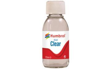 Humbrol Clear-Matt 125ml · HR AC7434 ·  Humbrol