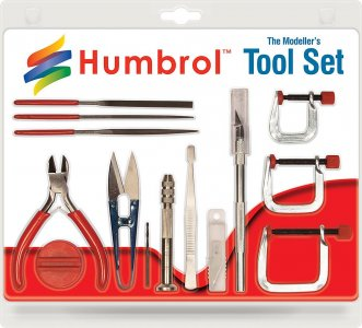 Modellbau-Werkzeug-Set mittel · HR AG9159 ·  Humbrol