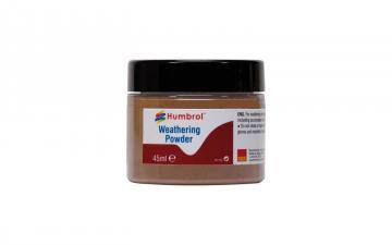 Weathering Powder Light Rust - 45 ml · HR AV0018 ·  Humbrol