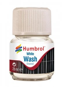 Humbrol Enamel Wash White 28 ml · HR AV0202 ·  Humbrol