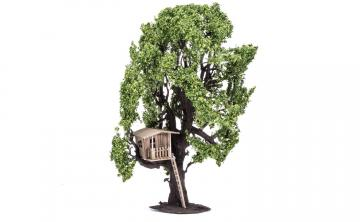 Skale Scenics Tree (with Tree House) 15 cm · HR R7224 ·  Humbrol