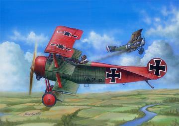 Fokker Dr.I · ILK 62403 ·  I LOVE KIT · 1:24